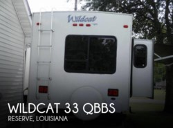 Used 2009  Forest River Wildcat 33 QBBS
