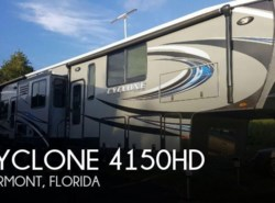 Used 2016  Heartland RV Cyclone 4150HD
