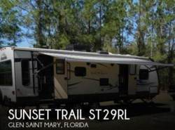 Used 2012  CrossRoads Sunset Trail ST29RL