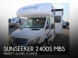 Used 2017  Forest River Sunseeker 2400S MBS by Forest River from POP RVs in Sarasota, FL