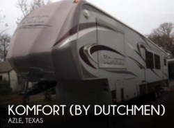 Komfort corporation rv manufacturer fifth wheel travel trailer used 2012 komfort by dutchmen km3530 available in azle texas asfbconference2016 Images