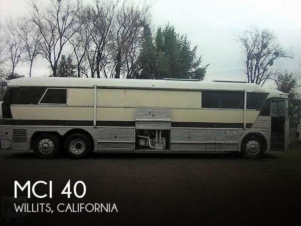 1972 MCI RV MCI 40 for Sale in Willits, CA 95490 | 147117