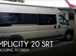 Used 2017  Roadtrek Simplicity 20 SRT by Roadtrek from POP RVs in Melbourne, FL