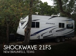 Used 2013  Forest River Shockwave 21FS by Forest River from POP RVs in New Braunfels, TX
