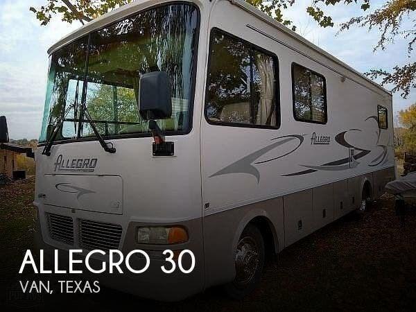 2002 Tiffin Rv Allegro 30 For Sale In Van Tx 75790 196397