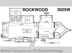 New 2017  Forest River Rockwood Wind Jammer 3025W by Forest River from Campers Inn RV in Stafford, VA