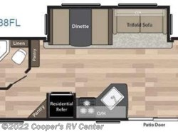 New 2017  Keystone Springdale 38FL by Keystone from Cooper's RV Center in Apollo, PA