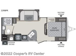 New 2018  Keystone Premier Ultra Lite 22RBPR by Keystone from Cooper's RV Center in Apollo, PA