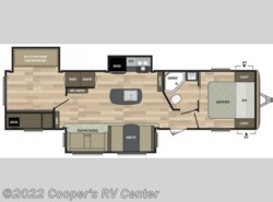 New 2018  Keystone Springdale 332RB by Keystone from Cooper's RV Center in Apollo, PA