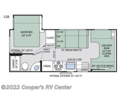 New 2018  Thor Motor Coach Four Winds 22B by Thor Motor Coach from Cooper's RV Center in Apollo, PA