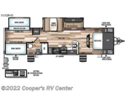 New 2018  Forest River Wildwood Heritage Glen 312QBUD by Forest River from Cooper's RV Center in Apollo, PA