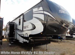 "New 2017  Jayco Seismic Wave 412W Front King Triple Slide w/12'2"" Garage by Jayco from White Horse RV Center in Williamstown, NJ"