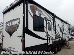 Used 2014  Heartland RV Cyclone CY 3100 Queen Bed, Double Slide-out by Heartland RV from White Horse RV Center in Williamstown, NJ