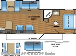 New 2017  Jayco Jay Flight 29RKS Rear Kitchen Sofa/Dinette Slideout by Jayco from White Horse RV Center in Williamstown, NJ