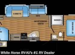 New 2017  Jayco Jay Flight 29BHDB 2-Bedroom Bath & 1/2 w/ Slideout by Jayco from White Horse RV Center in Williamstown, NJ
