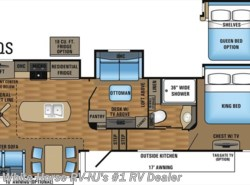 New 2017  Jayco Pinnacle 37MDQS 3-BdRM Quad Slide Den/Bunk & Loft Area by Jayco from White Horse RV Center in Williamstown, NJ