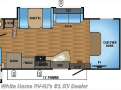 New 2017  Jayco Greyhawk 26Y Rear Queen Double Slideout by Jayco from White Horse RV Center in Williamstown, NJ