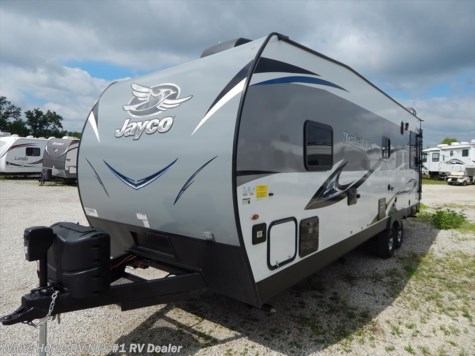2018 Jayco Octane Super Lite 273SL Front Is. Queen Bed w/8' Garage Area