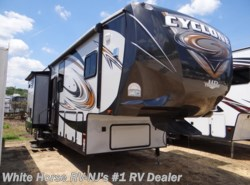 Used 2014 Heartland RV Cyclone CY 4100 Bath & 1/2, Triple Slide-out available in Williamstown, New Jersey
