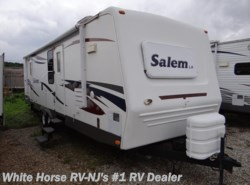 Used 2008  Forest River Salem LA 29FKSS Queen Bed, Sofa/Dinette Slide