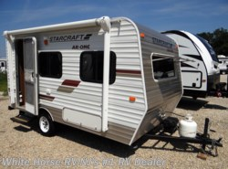 Used 2013  Starcraft AR-ONE 14RB Front Dinette with Sofa by Starcraft from White Horse RV Center in Williamstown, NJ