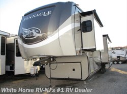 New 2018  Jayco Pinnacle 36KPTS Rear Lounge Triple Slideout by Jayco from White Horse RV Center in Williamstown, NJ