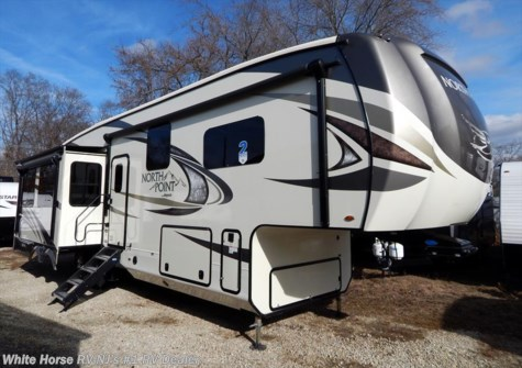 2018 Jayco North Point 315RLTS Rear Lounge Triple Slideout