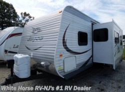 Used 2015  Jayco Jay Flight 26BHS Two-Bedroom Sofa/Dinette Slideout by Jayco from White Horse RV Center in Williamstown, NJ