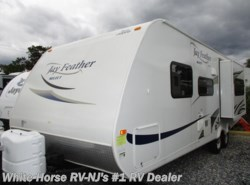 Used 2011  Jayco Jay Feather Select 24T Sofa/Bed Slide w/Walk-Around Front Queen Bed by Jayco from White Horse RV Center in Williamstown, NJ