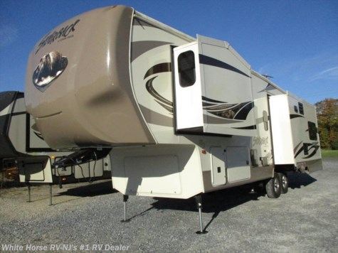 2016 Forest River Cedar Creek Silverback 29IK Triple Slide Rear Entertainment