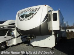 Used 2012  Forest River Cardinal 3675RT Triple Slide by Forest River from White Horse RV Center in Williamstown, NJ