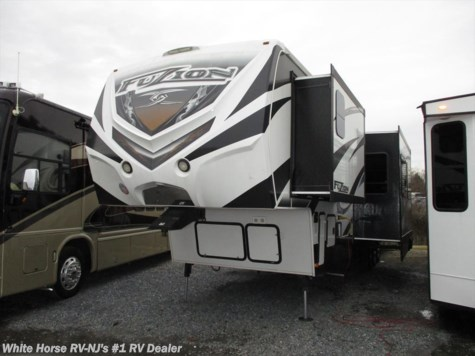 2014 Keystone Fuzion FZ 390 Triple Slide 1 & 1/2 Bath Rear 12' Garage