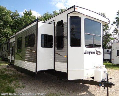 2018 Jayco Bungalow 40LOFT Front Living Room Triple Slideout w/Loft