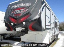Used 2012  Keystone Fuzion FZ-360 Double Slide 1 1/2 Baths & 10' Garage by Keystone from White Horse RV Center in Williamstown, NJ