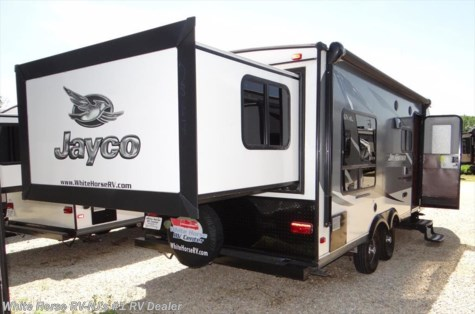 2016 Jayco Jay Feather X213 Rear King Bed Slide-out, Front Bunk Beds