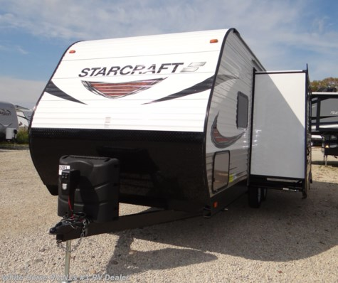 2019 Starcraft Autumn Ridge Outfitter 21RBS Rear Bath w/L-Lounge/Dinette Slideout