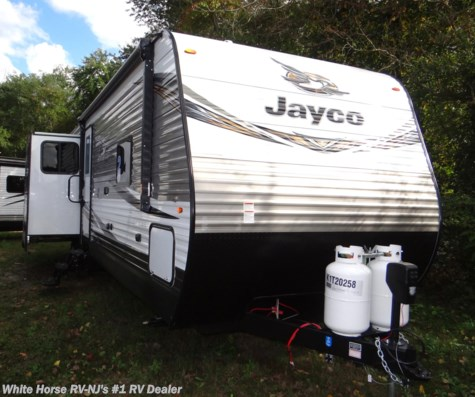 2019 Jayco Jay Flight 34RSBS Rear Living Room Triple Slide