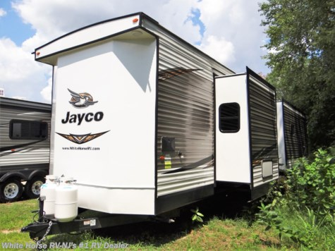 2019 Jayco Bungalow 40FBTS Rear Living 1 & 1/2 Bath Triple Slide