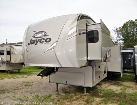 2019 Jayco Eagle 355MBQS Rear Lounge 2-BdRM & Loft Bed Quad Slide