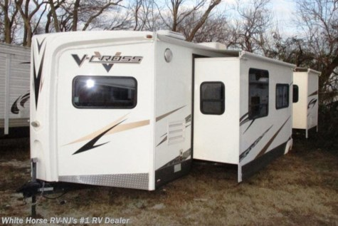 2010 Forest River V-Cross 32V FKS Front Kitchen Double Slide