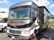 2014 Fleetwood Bounder Classic 34M Triple Slide, Rear King Bed