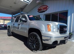 Used 2009  GMC  Sierra 1500 SLE 4x4 4dr Crew Cab 5.8 ft. SB by GMC from Motorsports Unlimited in Mcalester, OK