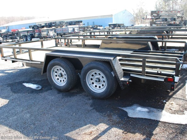 2021 CAM Superline STP8216TATB 7 x 14 Tube Top Utility Trailer available in Wilkes-Barre, PA