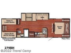 New 2019  Gulf Stream Ameri-Lite Ultra-Lite 279BH by Gulf Stream from Travel Camp in Jacksonville, FL