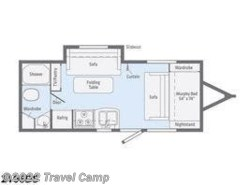 New 2019  Winnebago Micro Minnie 2106DS by Winnebago from Travel Camp in Jacksonville, FL