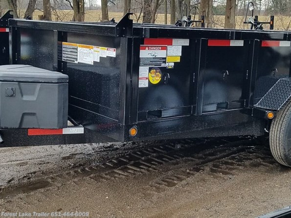2021 ABU 7x14 14K Dump Trailer available in Forest Lake, MN