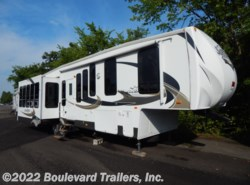 Used 2011  Forest River Sandpiper 345RET by Forest River from Boulevard Trailers, Inc. in Whitesboro, NY