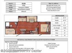 New 2018  Gulf Stream Conquest 276BHS by Gulf Stream from Bourbon RV Center in Bourbon, MO