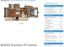 New 2018  Jayco Eagle HT 24.5CKTS by Jayco from Bourbon RV Center in Bourbon, MO