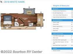 New 2018  Jayco White Hawk 25FK by Jayco from Bourbon RV Center in Bourbon, MO